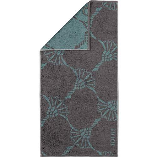 Joop! Handtuch Infinity Cornflower Zoom 1677 | 74 Graphite - 50 x 100