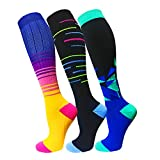 Copper Compression Socks For Men & Women 20-30mmHg-Best Support For Running,Sports,Hiking,Medeical,Circulation