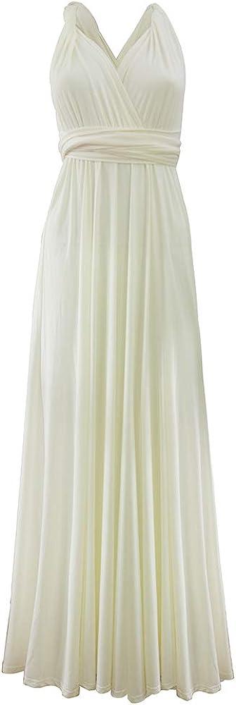 Laitefeier Women's Infinity Evening Dress Multiway Twist Wrap Bridesmaid Wedding Formal Dress