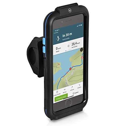 Wicked Chili Tour Case Fahrradhalterung kompatibel mit Apple iPhone 8 Plus / 7 Plus / 6 Plus / 6S Plus Bike Mount (5,5' Case/Hülle & Halterung für Fahrrad/Motorrad Lenker und Vorbau)