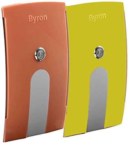 Byron BY-YR deurbel hoezen – geschikt voor Byron deurbellen – geel en oranje
