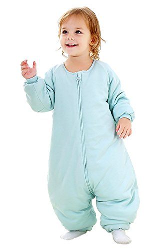 RESTCLOUD Baby Sleep Bag with Feet Winter, Wearable Blanket with Legs, Sack for Toddler Thicken 2.5 TOG (2T-4T Year, Large)