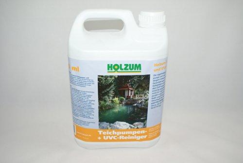 Holzum Teichpumpen- und UVC Reiniger 2,5 l/2,4 kg