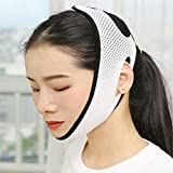 Face Slimming Bandage,Delicate Anti Wrinkle Thin Face V-Line Lift Up Reduce Double Chin Facial Massager Face-lift Belt Beauty Tools (pink)