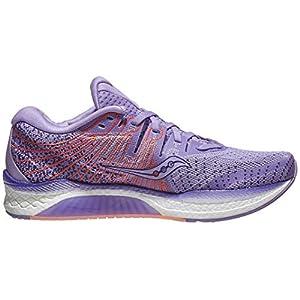 Saucony Women's S10510-37 Liberty ISO 2 Running Shoe, Purple/Peach - 10.5 M US