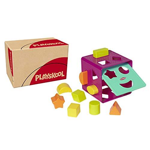 Playskool Form Fitter, Incastro di forme: dai 18 mesi in su - Gioco classico che consente ai bimbi più piccoli di esercitare i movimenti di precisione e l'individuazione delle forme