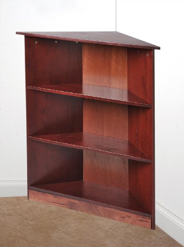 "Gi'Mark 36"" Corner Unit Bookcase Cherry"