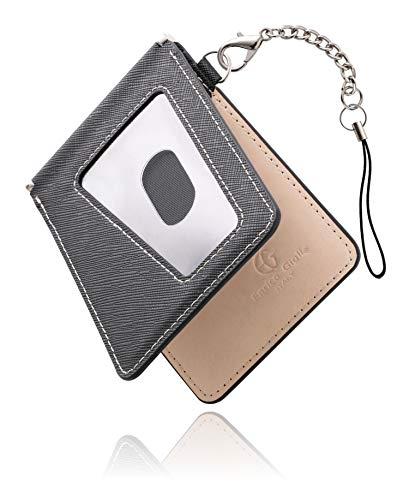 [ビジネスマン サポート] パスケース 定期入れ パスケース メンズ 定期入れ メンズ カードケース 薄型 IDカードホルダー 二つ折り エラー防止
