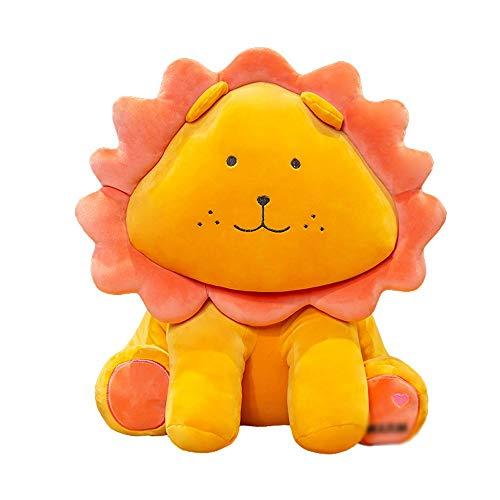 HJHJK Nette Sonne Blume Löwe Plüsch Spielzeug Cartoon Kuscheltier Puppe Weiches Kissen Kissen Kinder Geburtstagsgeschenk (Size : 70CM)