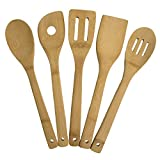 Bamboo 5 Piece Utensil Set