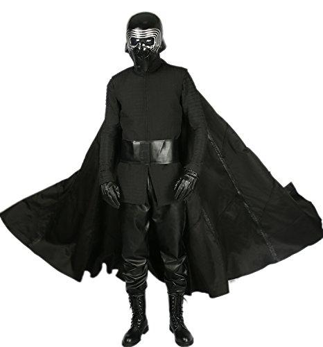 Xcoser Herren Kylo Ren Cosplay Robe Unter-Tunika Handschuhe Schal Gürtel Outfit Kostüm -  -  X-Large
