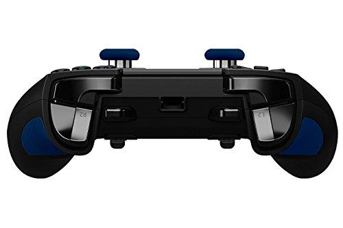 Razer Raiju Offizieller Playstation 4 Gaming Controller (PS4 Controller mit vier programmierbaren Tasten, Quick Control Panel) schwarz
