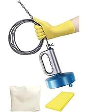 オマヒット パイプクリーナー ワイヤー 排水溝 つまり 手袋 保管袋 スポンジ 説明書付 業務用清掃ブラシ