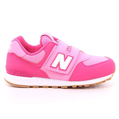New Balance 574 Rosa/Rosa (Exhuberent Pink/Candy Pink) Scamosciata 28 EU