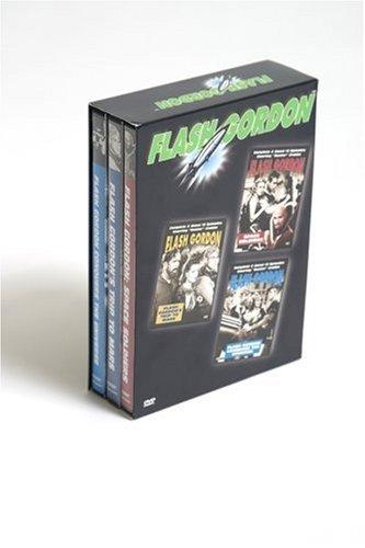 Flash Gordon: Box Set (Space Soldiers/Flash Gordon's Trip To Mars/Flash Gordon Conquers The Universe) (3DVD)