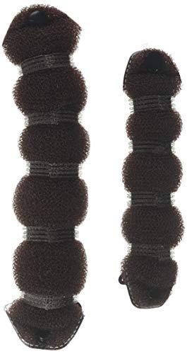 Set of 2 Pieces Brown Hairpin,Magic Hair Styling Styler Donut For Hair Bun,Hair Donut Bun Maker,Ring Styler Hot Hair bun maker,Curler Accessory Hair Bun