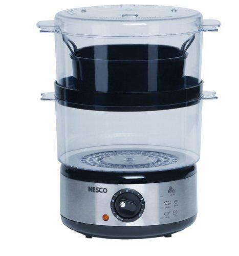 Nesco ST-25P 5-Quart Food Steamer, 400 watts