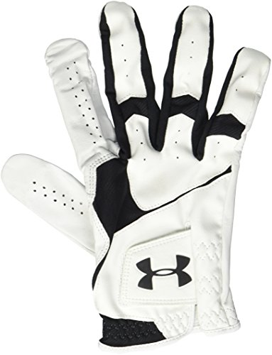 Under Armour Men's CoolSwitch Golf Glove, White/Squadron, Left Small...