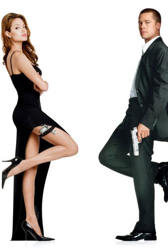 Nostalgia Store Angeline Jolie - Vestido Sexy de Longitud Completa con Brad Pitt en Mr. & Mrs. Smith 24x3.