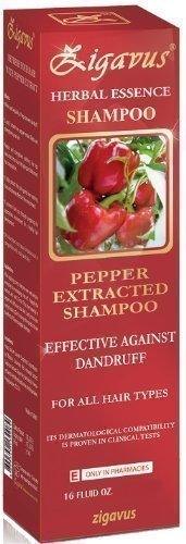 Zigavus Pfeffer Extrakt Shampoo 150ml gegen Schuppen! Haarpflege! Anti Schuppen! Anti Haarausfall! PH-Neutral!