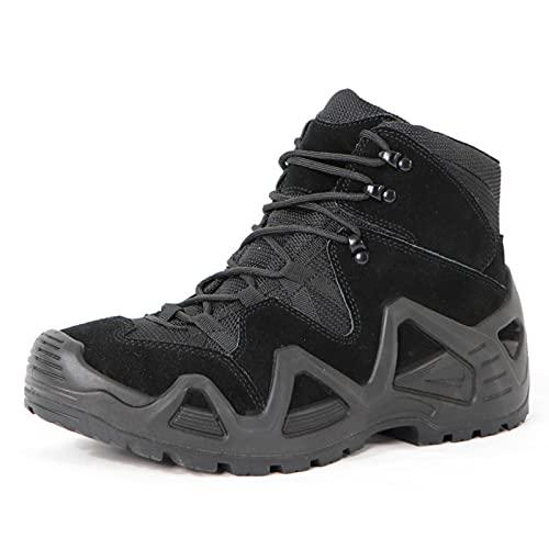 N\C Zapatos de senderismo al aire libre, Botas tácticas deportivas, Botas de combate de las fuerzas especiales, Botas tácticas del desierto de la parte superior, Zapatos de senderismo impermeables
