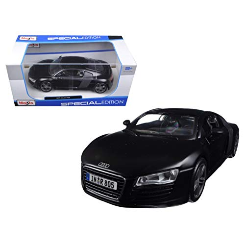 AUDI R8 Matt Black 1/24 by Maisto 31281