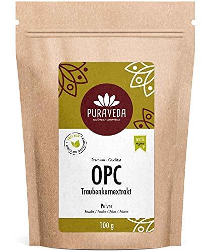Biotiva OPC Traubenkernextrakt Pulver 100g - 95{5539b18b23a84b210b746c0cd4f4338cfdfed1dd58c9199cb84686ac4e0347ed} OPC - hochdosierte Premium Qualität - ohne Zusatzstoffe - aus reifen, roten Weintrauben - kontrolliert und abgefüllt in Deutschland