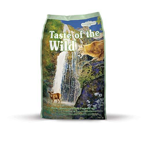 Taste of the Wild Kompletna żywność dla kotów z wędzonego łososia i wędzonego łososia, 7 kg