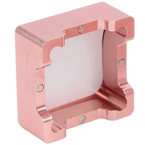 Yinuoday Aluminium Legierung Tasche Billard Queue Tipp Kreide Halter Pool Tabelle Stick Kreiden Träger Fall