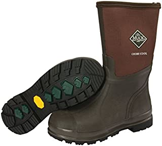 Muck Boot Chore Cool Soft Toe Warm Weather Men's Rubber Work Boot