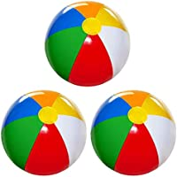 3-Pack 4Es Novelty Large Inflatable Beach Balls