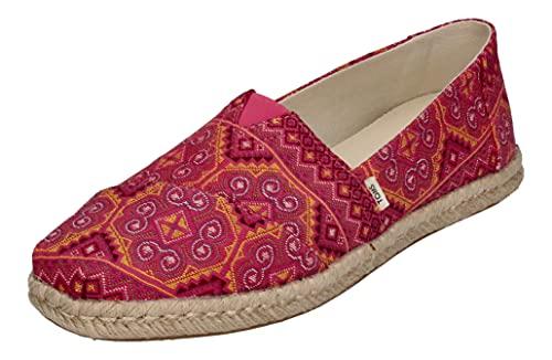 TOMS Damen Alpargata Rope Schuhe, pink, US 8