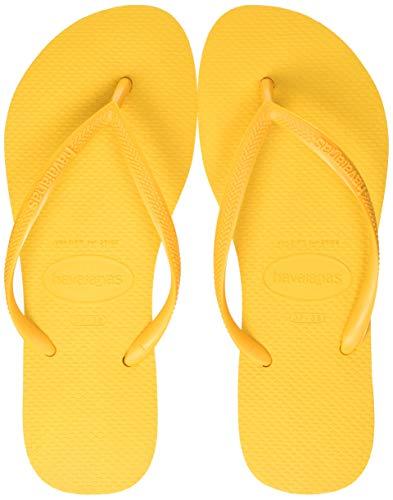 Sandalias amarillas Havaianas Slim unisex