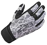 Fishoholic Cold Weather Fishing Gloves w' Super Grip for Men and Women...