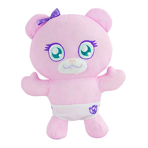 Doodle Bear The Original 6 Plush Toy with 2 Washable Markers, Baby Bear, Pink