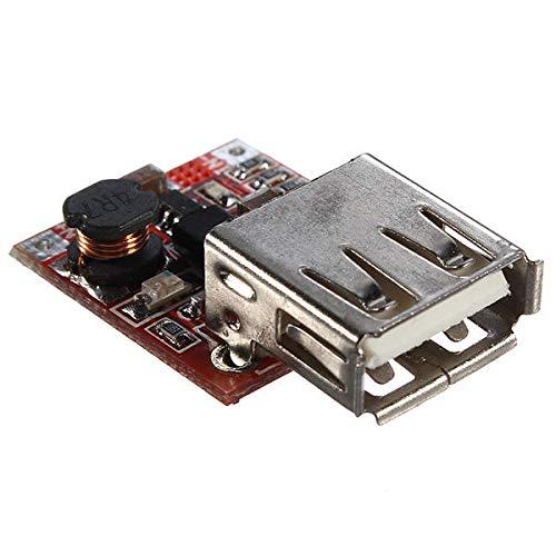 Módulo electrónico 3V a 5V 1A cargador USB convertidor DC-DC Step Up Boost Módulo for el teléfono MP3 MP4 for A-r-d-u-i-n-o - productos que funcionan con placas A-r-d-u-i-n-o oficiales 3Pcs Equipo ele