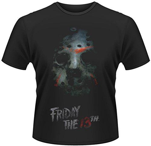 Vrijdag van de 13e T-shirt masker maat L friday the 13th masker