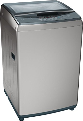 Bosch 8kg Fully Automatic Top Loading Washing Machine (WOE802D0IN, Silver)
