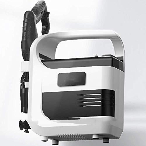 KJRJG 3en1 portátil Lavadora de alta presión eléctrica de lavado de coches bomba de la arandela eléctrica de alta presión del limpiador de lavado de la boquilla de impermeabilización del coche del sis
