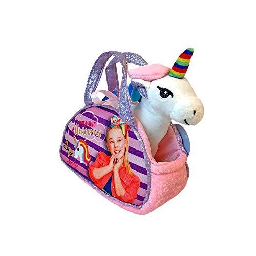 Nickelodeon JoJo Siwa Dreaming of Unicorns Plush w/ Bag