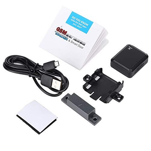 Mini sistema de seguridad del hogar del localizador magnético de LBS de alarma de puerta inteligente GSM en tiempo real