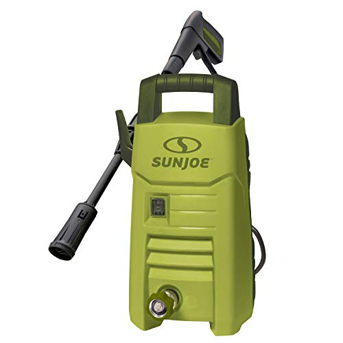 Sun Joe SPX206E 1600 PSI 11 Amp 1.45 GPM Compact Pressure Washer  $50 at Amazon