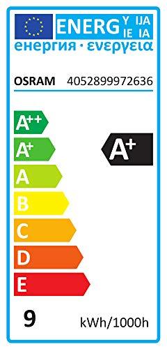 Osram LED Base Classic A, in Kolbenform mit E27-Sockel, Nicht Dimmbar, Ersetzt 60 Watt, Matt, Kaltweiß – 4000 Kelvin, 3er-Blister - 3