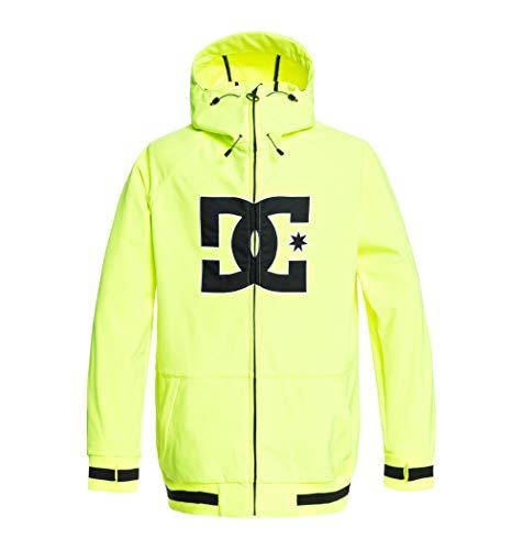 DC Shoes Spectrum - Chaqueta Shell Para Nieve Para Hombre Chaqueta Shell Para Nieve, Hombre, safety yellow, XL