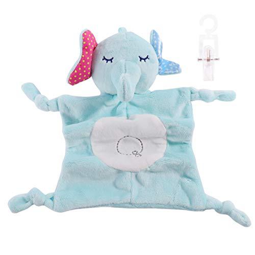 VALICLUD Bebé Manta de Seguridad Felpa Animal Elefante Segu
