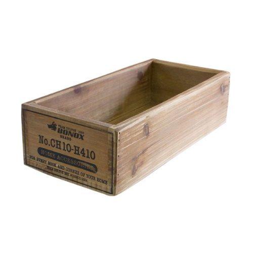 木の温もり溢れるアメリカンテイストなウッデンボックス!【DULTON Wooden box ダルトン ウッデンボックス】CH10-H410 アメリカン雑貨 アメリカ雑貨 (ナチュラル)