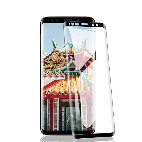 RIIMUHIR-Panzerglas Schutzfolie für Samsung Galaxy S9 Plus [2 Stück], Displayschutzfolie für Samsung Galaxy S9 Plus, Panzerglas [9H Härte][Einfache Installation] Schutzfolie für Handys, Transparent
