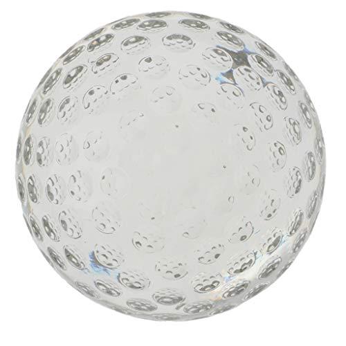 T TOOYFUL 80mm Clear Crystal Golfball (ohne Ständer) Für Kinder Schlafzimmer Dekor