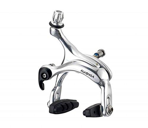 1x Freno Puente para Bicicleta Carretera Fixie Aluminio Plata Trasero o Delantero 3436pl
