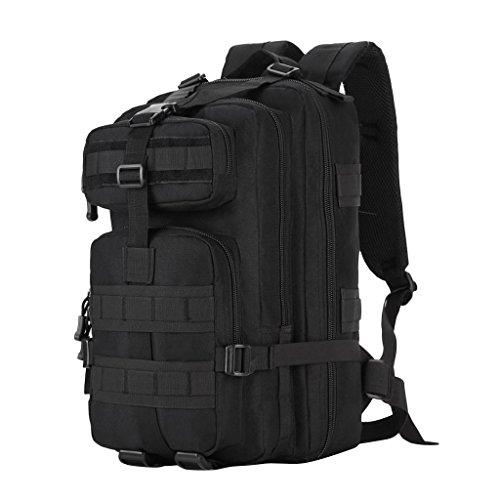 MagiDeal Sac à Dos de Randonnée 40L Sac Trekking Bagage Voyage Camping Sport Extérieur - Noir, 48 x 29 x 27 cm